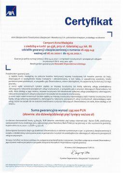 Gwarancja Ubezpieczeniowa Axa